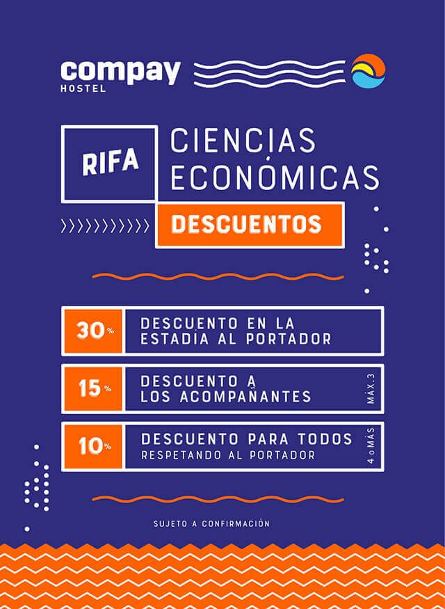 RIFA CIENCIAS ECONÓMICAS!  30% OFF!!!