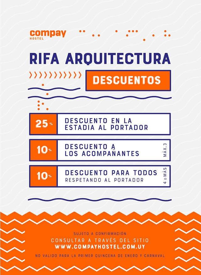 Rifa Arquitectura - 25% OFF!