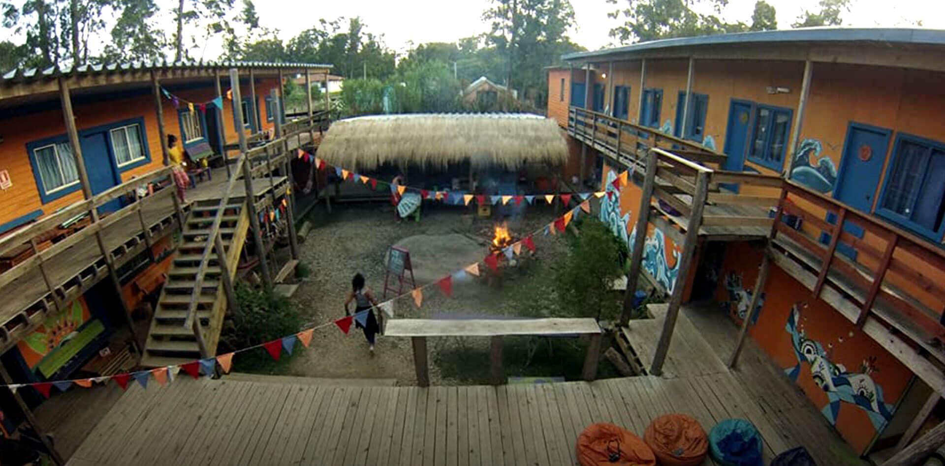 Compay Hostel en La Pedrera Rocha Uruguay