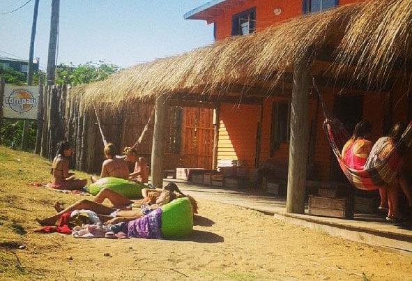 Punta del Diablo en Compay Hostel #1