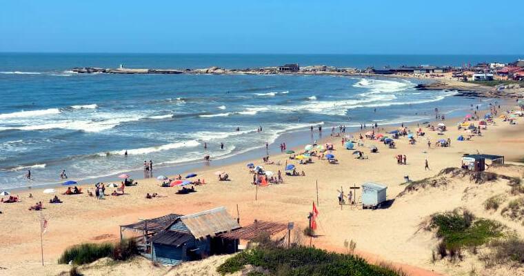 Playa del Rivero en Punta del Diablo