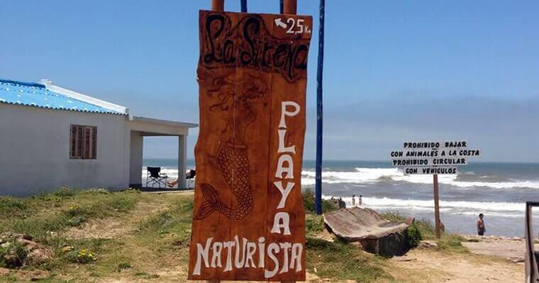Aguas Dulces playa nudista nudista